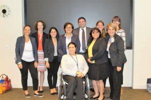Volunteer Immigration Faculty at NITA/CILA Training.